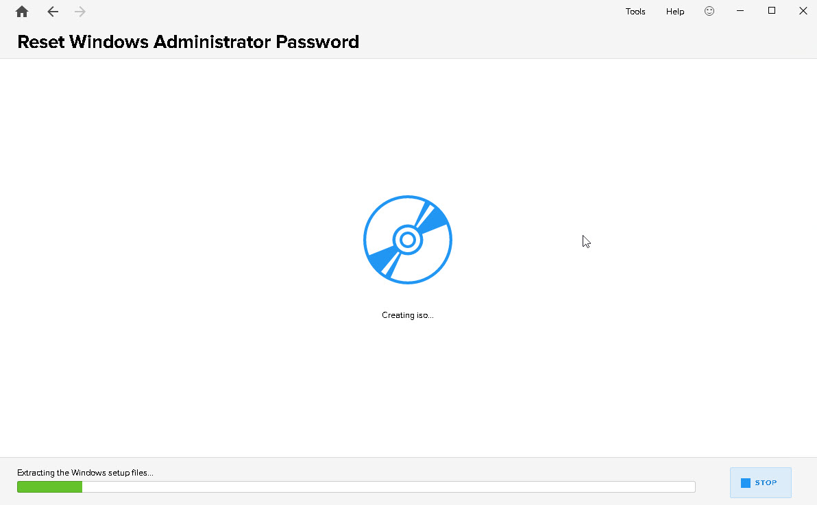 How to reset a Windows account password using Windows Key